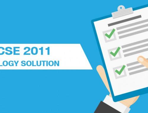 ICSE 2011 Biology Solution