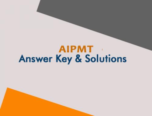 AIPMT Answer Key 2018