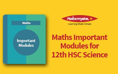 Important Modules for 12th HSC Science: Maths Paper