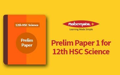 12 HSC Science Prelim Paper