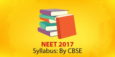 NEET 2017:Syllabus