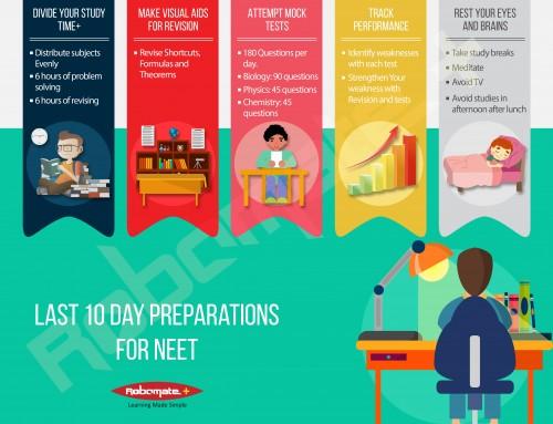 Last 10 day Preparation Tips for NEET 2017 Exam.