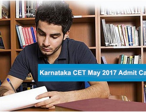 KCET 2017: Admit Ticket Released; Download Now From Kea.kar.nic.in