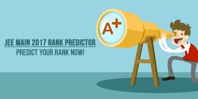 JEE MAIN 2017 Rank Predictor