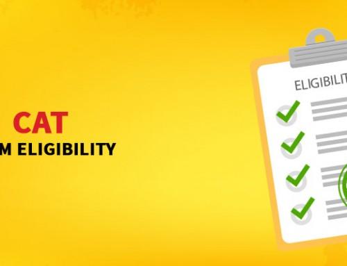 CAT Exam Eligibility 2017
