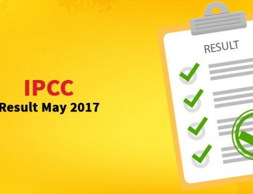 IPCC Result May 2017