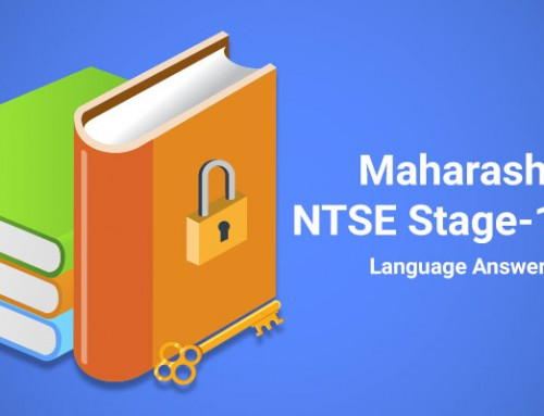 Maharashtra NTSE Stage-1 2016 Language Answer Key