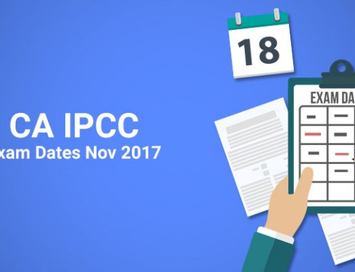 CA IPCC Exam Dates Nov 2017
