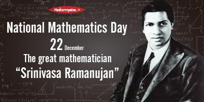 National Mathematics Day 22nd December