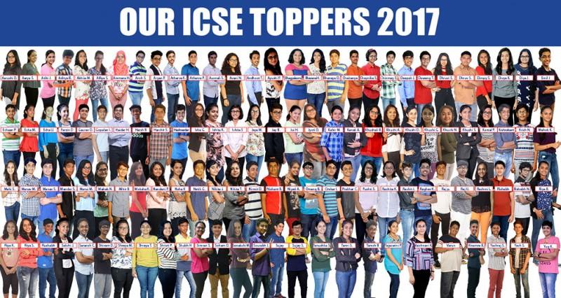 ICSE 2017 Result Topper