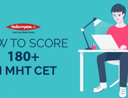 How to Score 180+ in MHT CET?