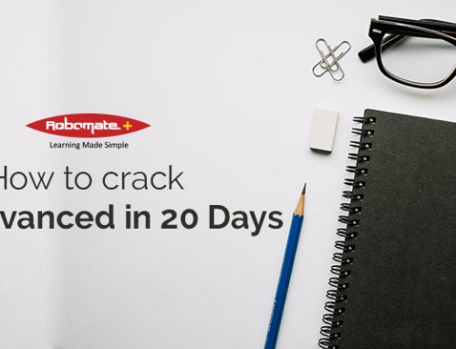 How to prepare for JEE Advanced in 20 days