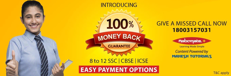 Money Back Guarantee- Robomateplus