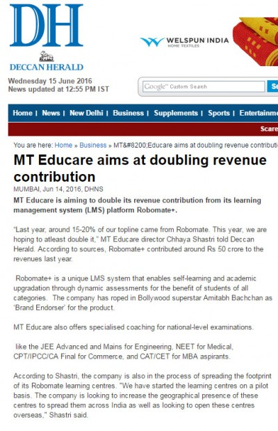 Robomate+Launch By MT Educare