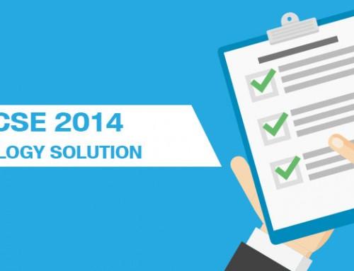 ICSE 2014 Biology Solutions