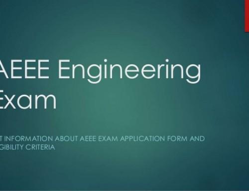 AEEE 2017 – Amrita Engineering Entrance Exam