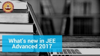 New changes introduced in JEE Advanced 2017.