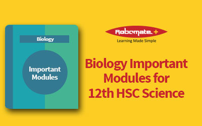 Biology Important Modules for 12th HSC Science