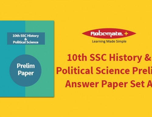 10th SSC History & Political Science Prelim Answer Paper Set A