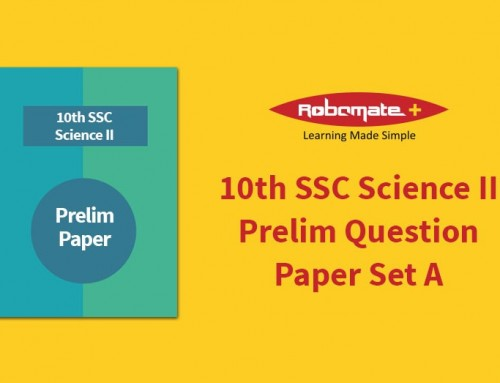 10th SSC Science II Prelim Question Paper Set A