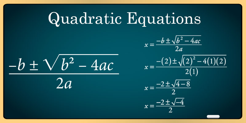 NCERT Solutions for Class 10 Maths - Quadratic Equations - Robomateplus