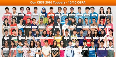 Our CBSC 2016 Toppers
