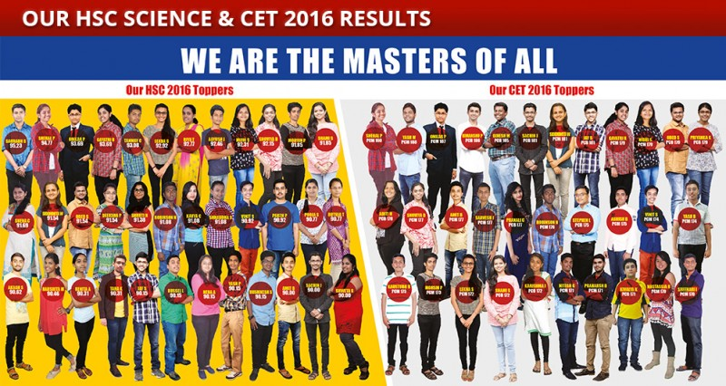 Our HSC Science 2016 Toppers