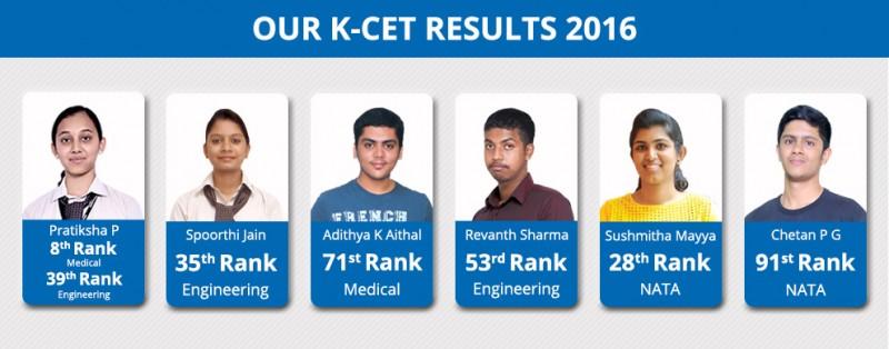 KCET 2016 Result