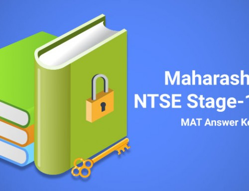 Maharashtra NTSE Stage-1 2016 MAT Answer Key