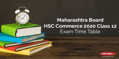 Time Table HSC Commerce 2020