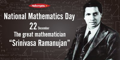 National Mathematics Day 22nd December