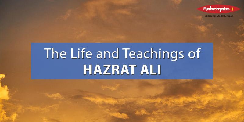 robomate life teachings hazrat ali
