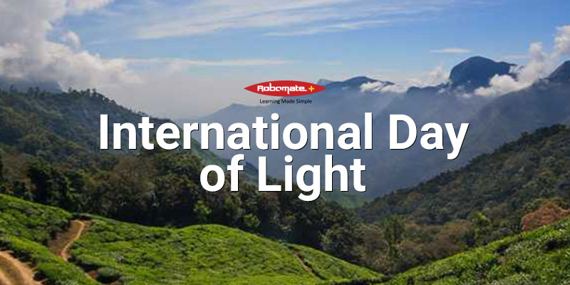 International Day of Light - Robomate+