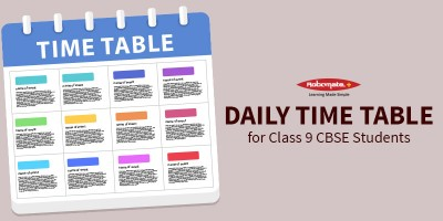 Study Tips And Time Table For CBSE Class 9 - Robomate Plus