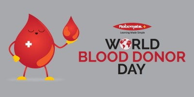 World Blood Donor Day - Robomate+