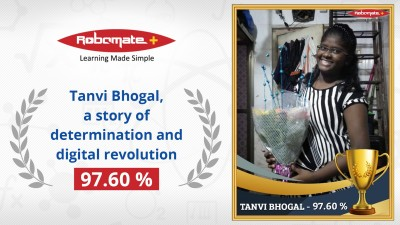 Tanvi Bhogal Robomate study companion digital revolution