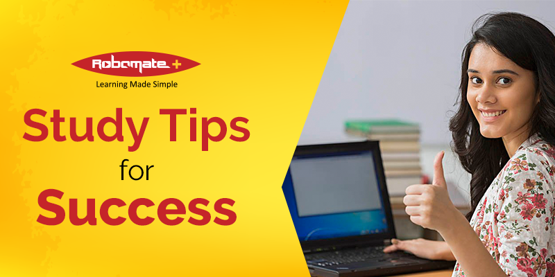 Study tips for Success - Robomate+
