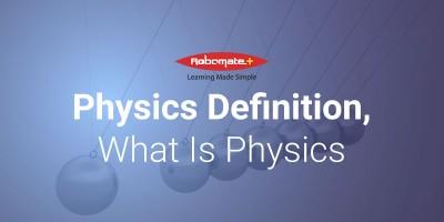 Physics Definition - Robomate+