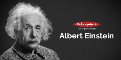 Albert Einstein - Robomate+