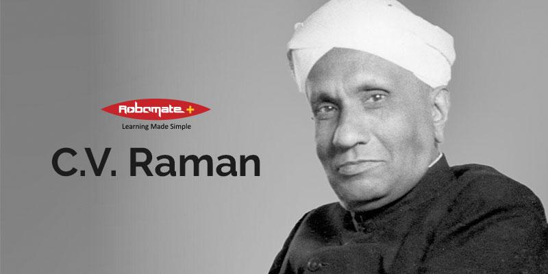 C.V. Raman - Biography