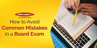 Common Mistakes to Avoid in a Board Exam