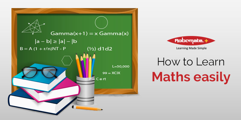 How to Learn Maths Easily - Robomate+