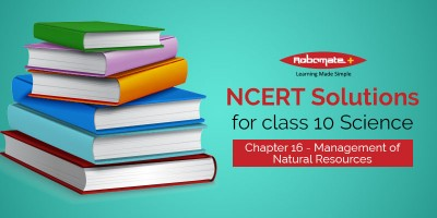 NCERT Solutions for Class 10 Science Chapter 16 - Management of Natural Resources - Robomate+