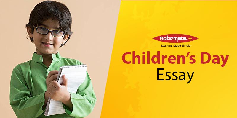 Children's Day Essay - Robomate+
