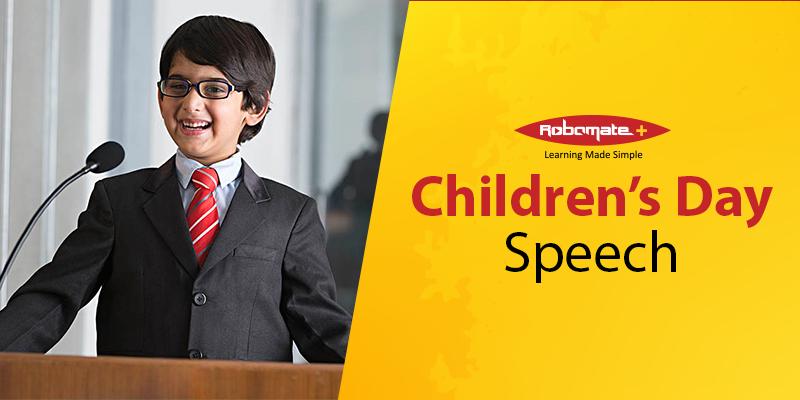 Children's Day Speech - Robomate+
