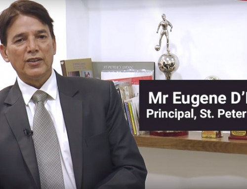 How to Integrate Technology in Education : Mr Eugene D'Monte, Principal, St. Peter's School