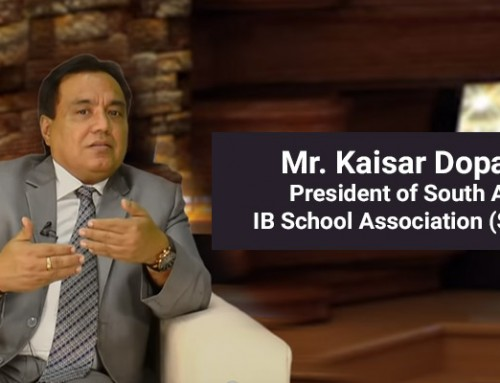 Mr. Kaisar Dopaishi, Renowned Educationist Gives Insights on Education in the Current Era
