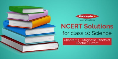 NCERT solutions for Class 10 Science chapter 13 - Magnetic Effects of Electric Current - Robomate+