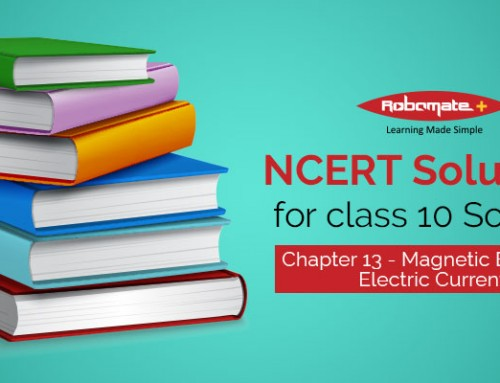NCERT Solutions for Class 10 Science Chapter 13 – Magnetic Effects of Electric Current