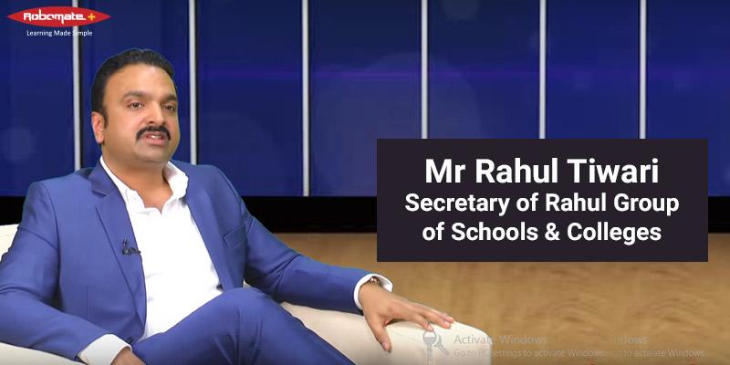 Mr Rahul Tiwari - Robomate+